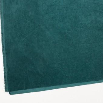コットン×無地(エメラルドグリーン)×細コーデュロイワッシャー_全4色 サムネイル2