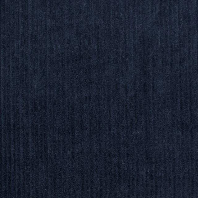コットン×無地(プルシアンブルー)×細コーデュロイワッシャー_全4色 イメージ1