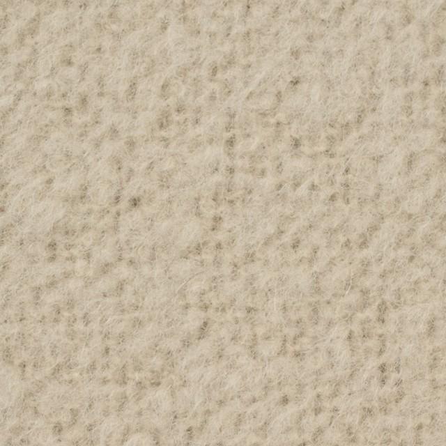 アルパカ&ウール混×無地(グレイッシュベージュ)×ループニット_イタリア製 イメージ1