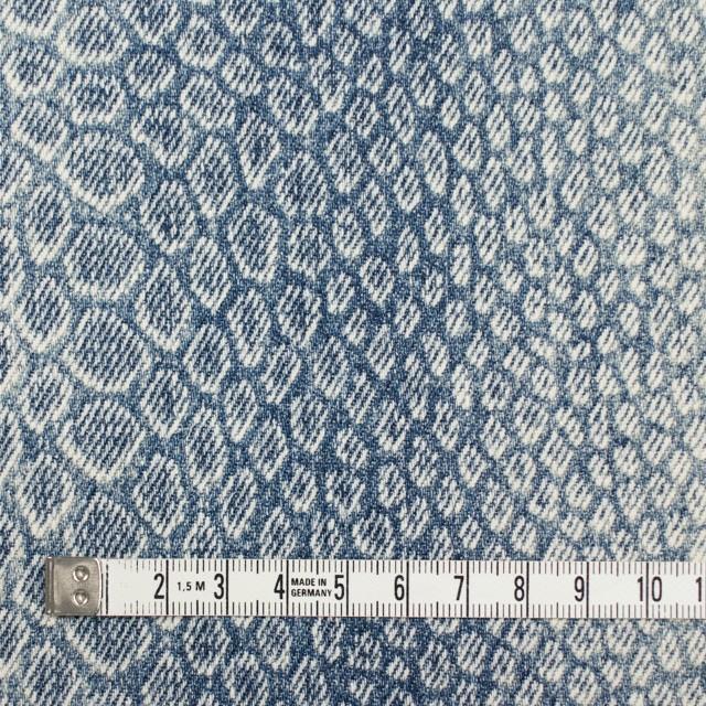 コットン×スネーク(ブルー)×デニム イメージ4
