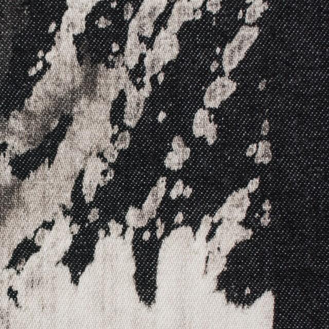 コットン×カリグラフィ(ブラック)×デニム イメージ1