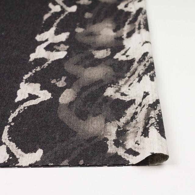 コットン×カリグラフィ(ブラック)×デニム イメージ3