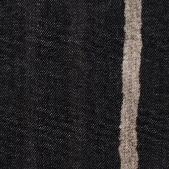 コットン×カリグラフィ(ブラック)×デニム サムネイル1