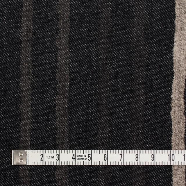 コットン×カリグラフィ(ブラック)×デニム イメージ4