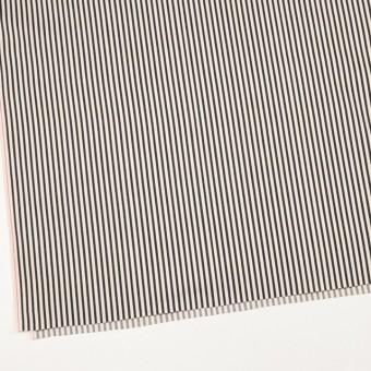 コットン×ストライプ(キナリ&ブラック)×サテン サムネイル2
