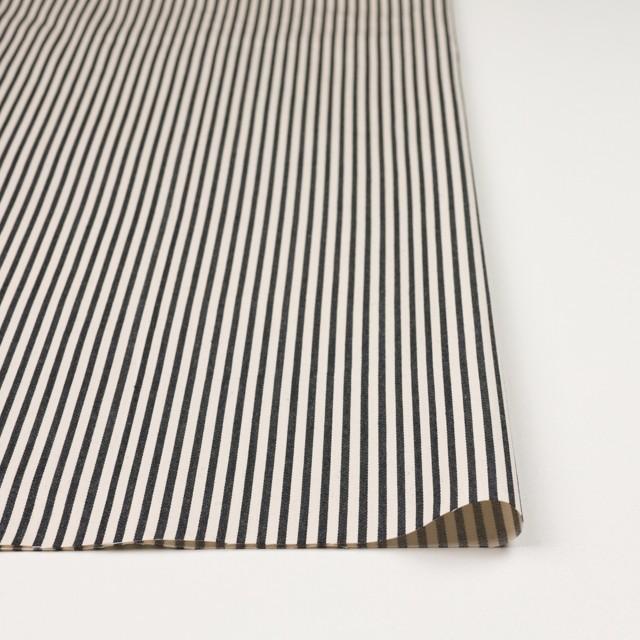 コットン×ストライプ(キナリ&ブラック)×サテン イメージ3