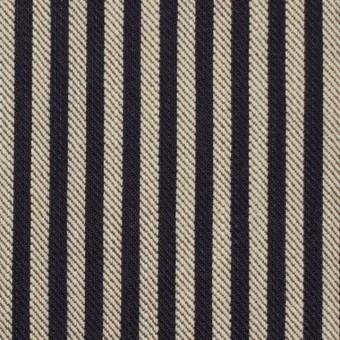 コットン×ストライプ(インディゴ&ブラウン)×デニムヒッコリー サムネイル1