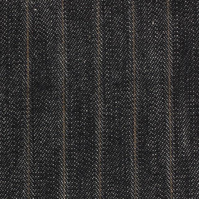 コットン×ストライプ(インディゴ)×デニム イメージ1