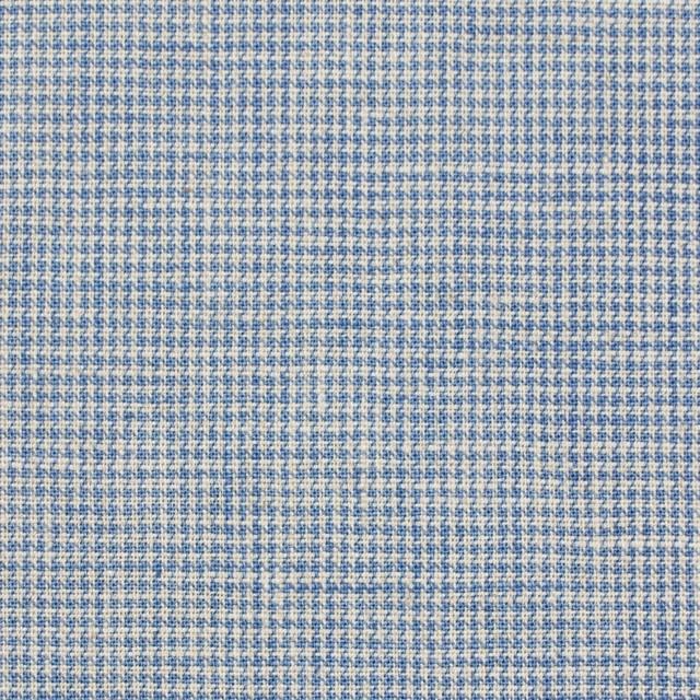 リネン&コットン×チェック(サックス)×千鳥格子_全2色 イメージ1