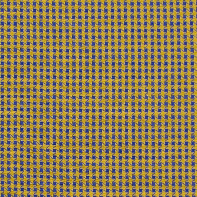 コットン×ウインドミル(アンティークゴールド&ロイヤルブルー)×かわり織_全5色 イメージ1