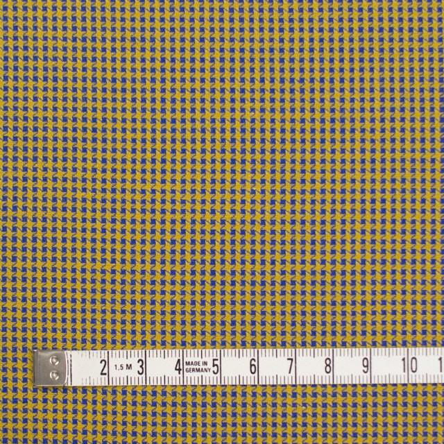 コットン×ウインドミル(アンティークゴールド&ロイヤルブルー)×かわり織_全5色 イメージ4