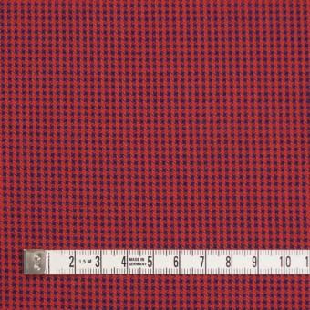 コットン×ウインドミル(レッド&ネイビー)×かわり織_全5色 サムネイル4