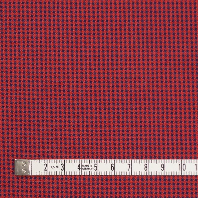 コットン×ウインドミル(レッド&ネイビー)×かわり織_全5色 イメージ4