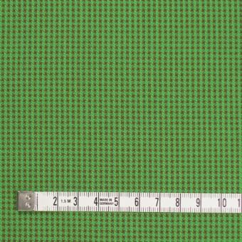 コットン×ウインドミル(メドウグリーン&ブラウン)×かわり織_全5色 サムネイル4