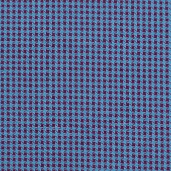 コットン×ウインドミル(シアン&パープル)×かわり織_全5色 サムネイル1