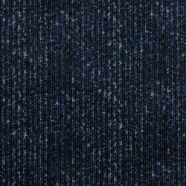 コットン&ポリエステル混×ミックス(ミッドナイトブルー)×コーデュロイ・ストレッチ イメージ1