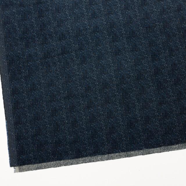 コットン&ポリエステル混×ミックス(ミッドナイトブルー)×コーデュロイ・ストレッチ イメージ2
