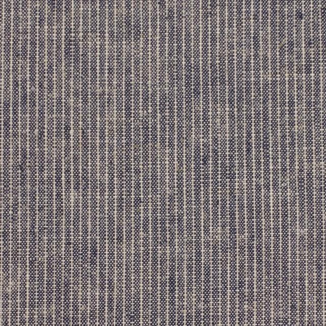 リネン&コットン×ストライプ(キナリ&ブルー)×ダンガリー イメージ1