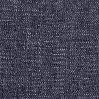 リネン×無地(グレープブルー)×デニム サムネイル1