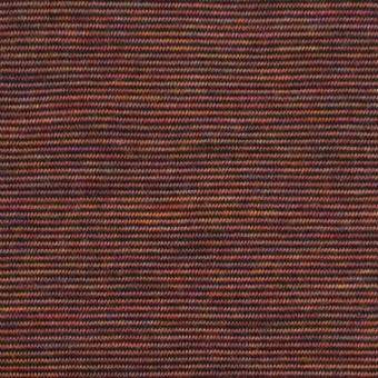 ウール&ナイロン×ボーダー(セピアミックス)×天竺ニット