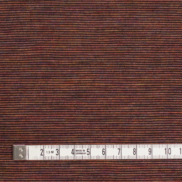 ウール&ナイロン×ボーダー(セピアミックス)×天竺ニット イメージ4