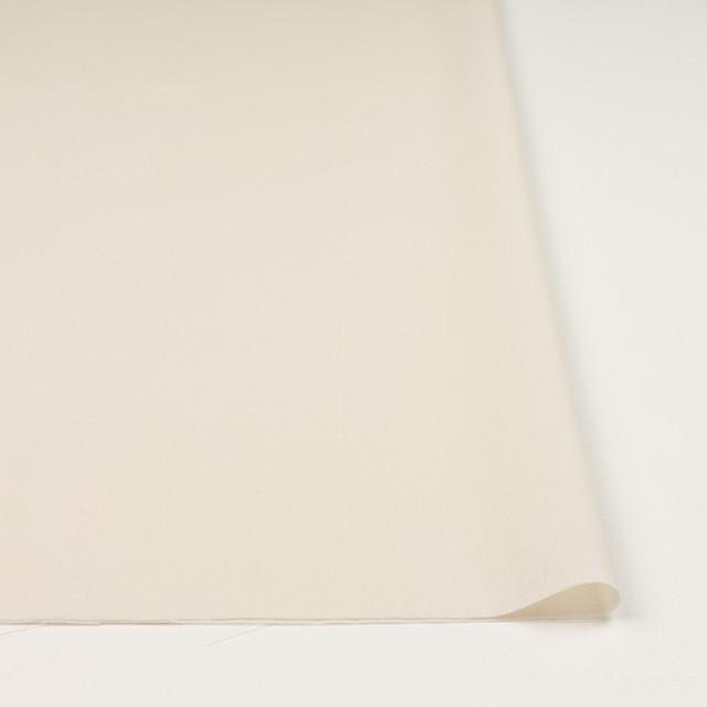 コットン×無地(クリーム)×薄サージ_全4色 イメージ3