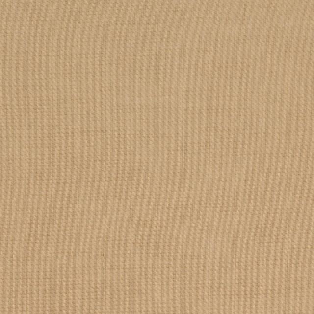コットン×無地(オークルベージュ)×薄サージ_全4色 イメージ1