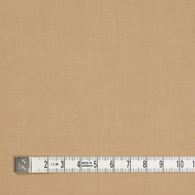 コットン×無地(オークルベージュ)×薄サージ_全4色 イメージ4