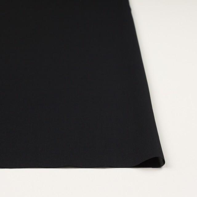 コットン×無地(ブラック)×薄サージ_全4色 イメージ3