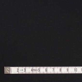 コットン×無地(ブラック)×薄サージ_全4色 サムネイル4