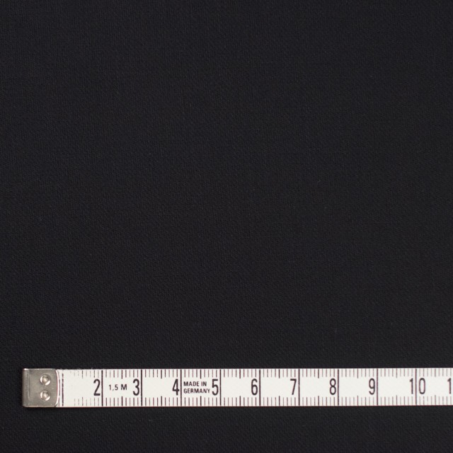 コットン×無地(ブラック)×薄サージ_全4色 イメージ4