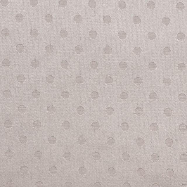 シルク&コットン×ドット(パールグレー)×サテンジャガード_全3色 イメージ1