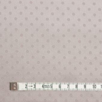 シルク&コットン×ドット(パールグレー)×サテンジャガード_全3色 サムネイル4