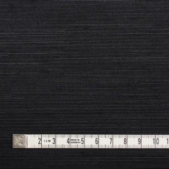 トリアセテート&ポリエステル×無地(ブラック)×グログラン サムネイル4