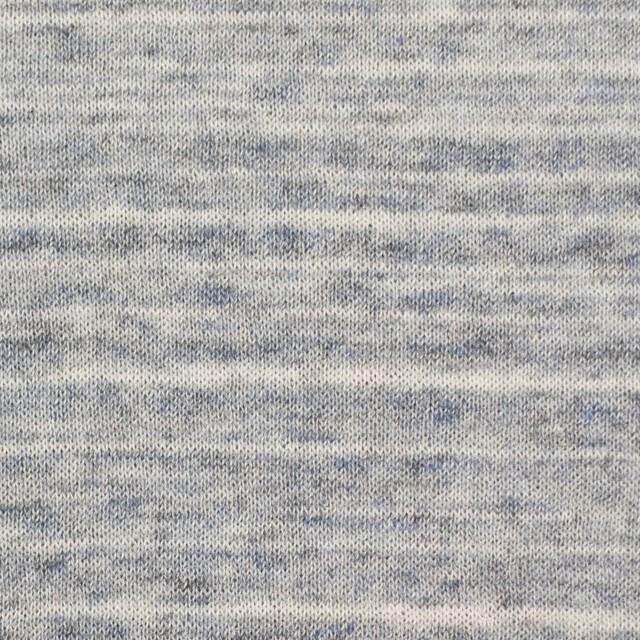 コットン&リネン×ミックス(ブルーグレー)×天竺ニット_全2色 イメージ1