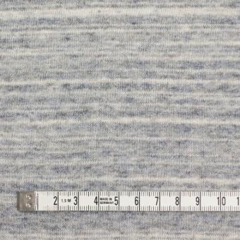 コットン&リネン×ミックス(ブルーグレー)×天竺ニット_全2色 サムネイル4