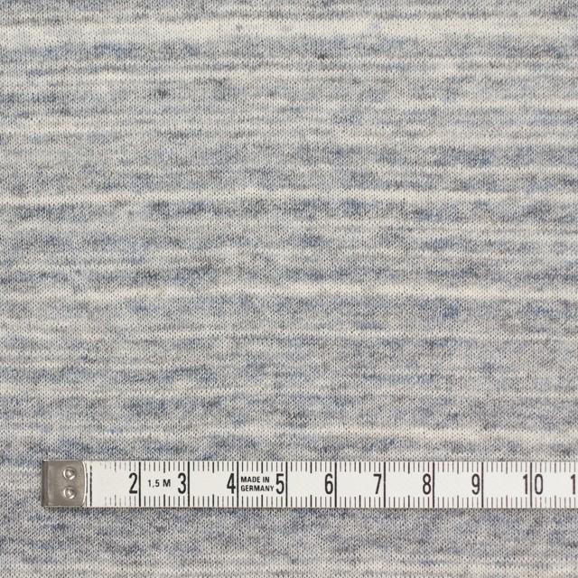 コットン&リネン×ミックス(ブルーグレー)×天竺ニット_全2色 イメージ4