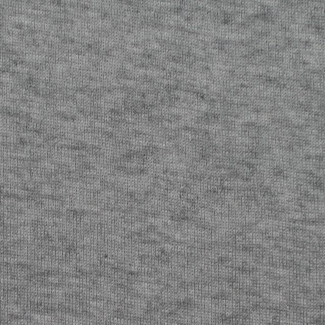 コットン&カシミア×無地(グレー)×フライスニット イメージ1