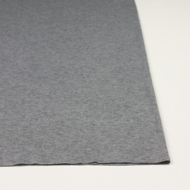 コットン&カシミア×無地(グレー)×フライスニット イメージ3