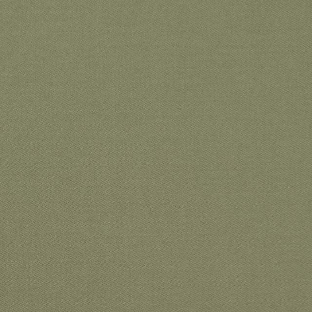コットン×無地(カーキグリーン)×サテン_全8色 イメージ1