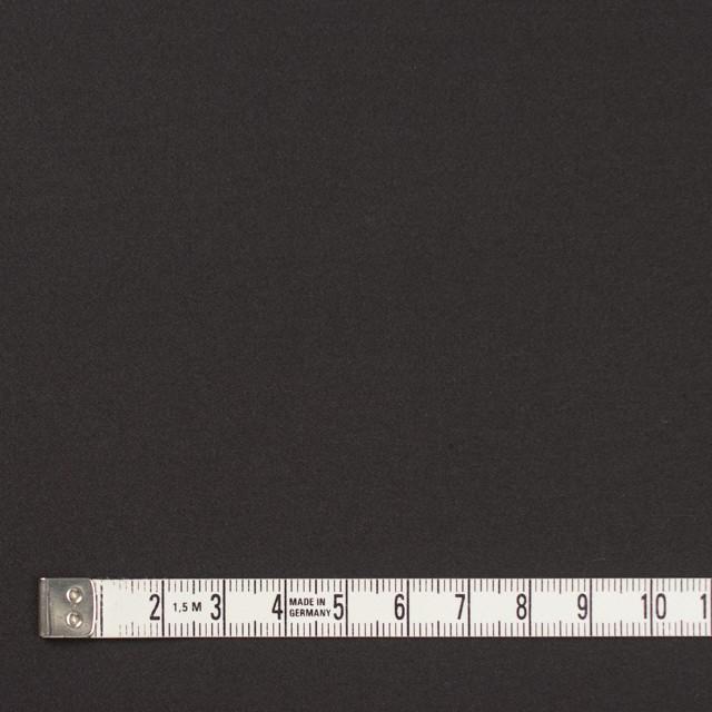 コットン×無地(チャコールブラック)×サテン_全8色 イメージ4