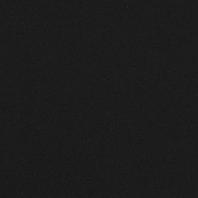 コットン×無地(ブラック)×サテン_全8色 イメージ1