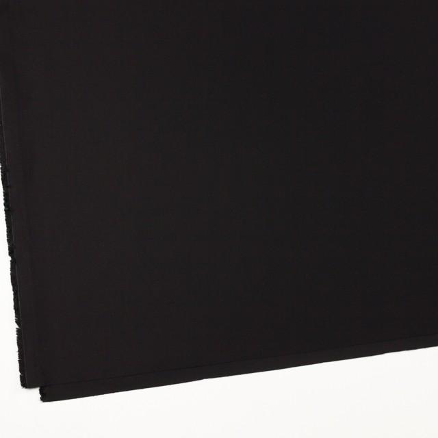 コットン×無地(ブラック)×サテン_全8色 イメージ2