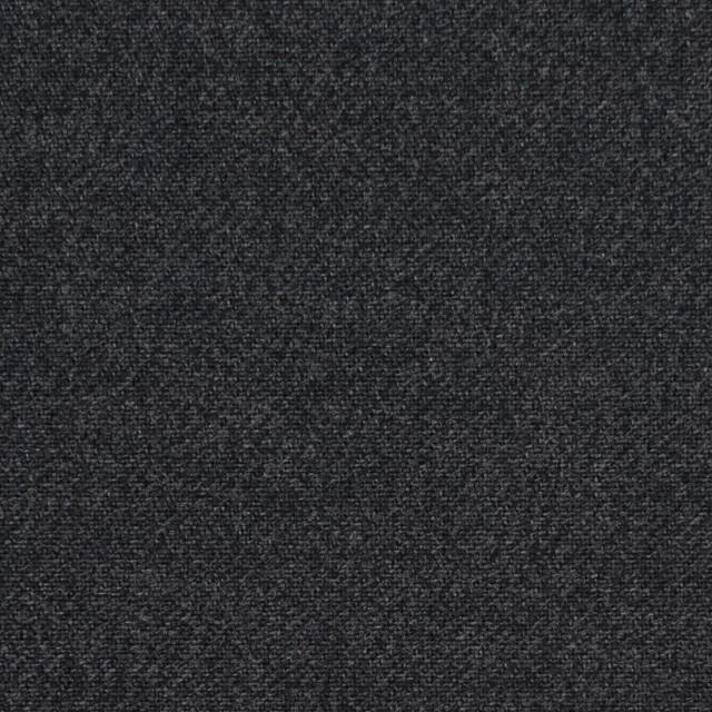 コットン×無地(チャコールブラック)×サージ_全2色 イメージ1