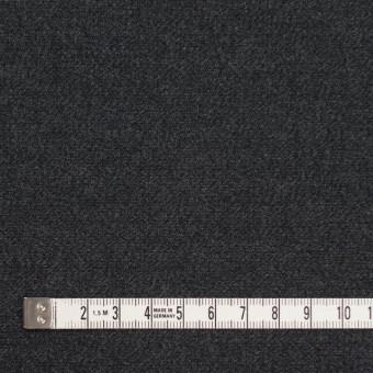 コットン×無地(チャコールブラック)×サージ_全2色 サムネイル4