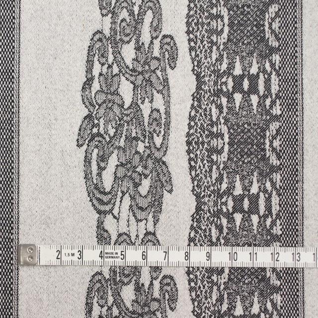 コットン&ポリウレタン×レース(アイボリー&ブラック)×サテンストレッチ イメージ4