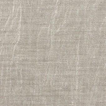 リネン&キュプラ×無地(メタル)×かわり織ワッシャー(ラメ箔プリント)