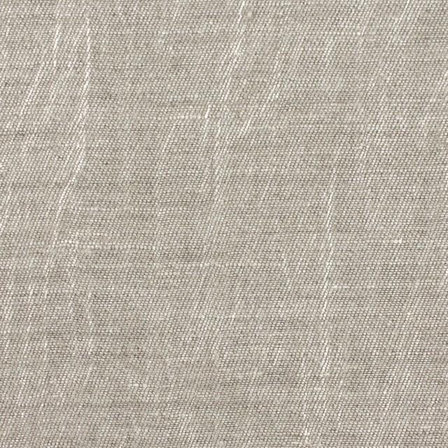 リネン&キュプラ×無地(メタル)×かわり織ワッシャー(ラメ箔プリント) イメージ1