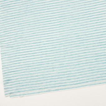 リネン×ボーダー(サックスブルー)×天竺ニット_全2色 サムネイル2