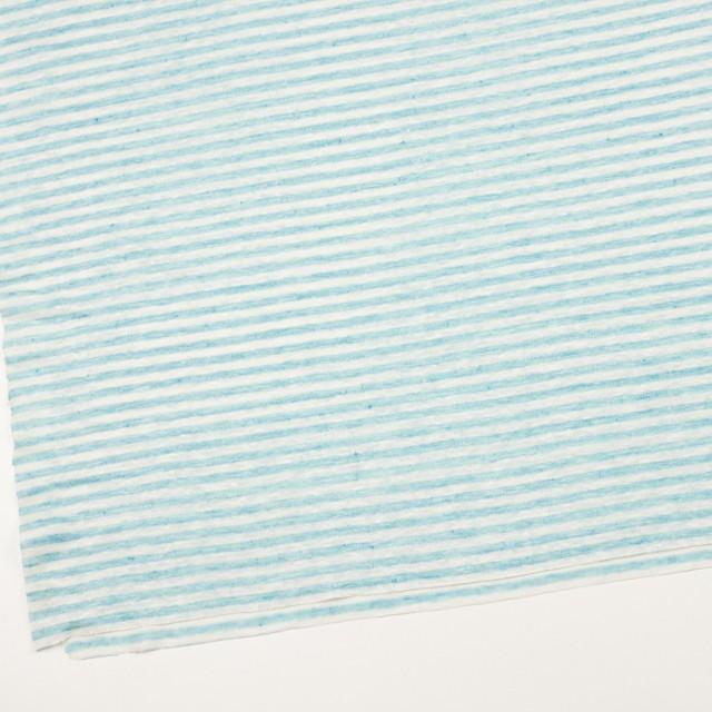 リネン×ボーダー(サックスブルー)×天竺ニット_全2色 イメージ2